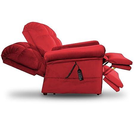 Exceptionnel Amazon.com: Perfect Sleep Chair   Lift Chair U0026 Medical Recliner U2013 DuraLux  II Microfiber   Indigo (Blue): Health U0026 Personal Care