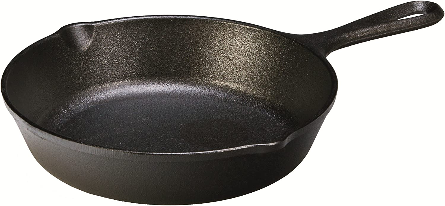 Lodge Heat Enhanced and Seasoned Cast Iron Skillet, 8-Inch