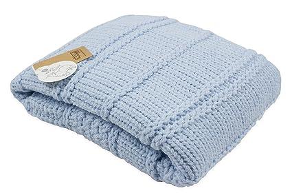 Nipper País 6281 100% BIO – Manta (lana baby/Colcha de punto (
