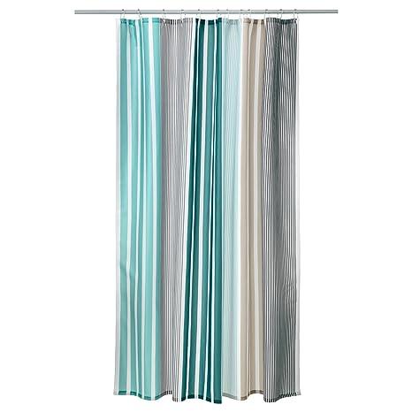 Tessuti Per Tende Ikea.Ikea Tenda Doccia In Tessuto Bolman 180 X 200 Cm Colore Grigio