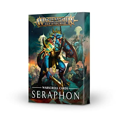 Games Workshop Warhammer Age of Sigmar: Warscroll Cards: Seraphon: Toys & Games
