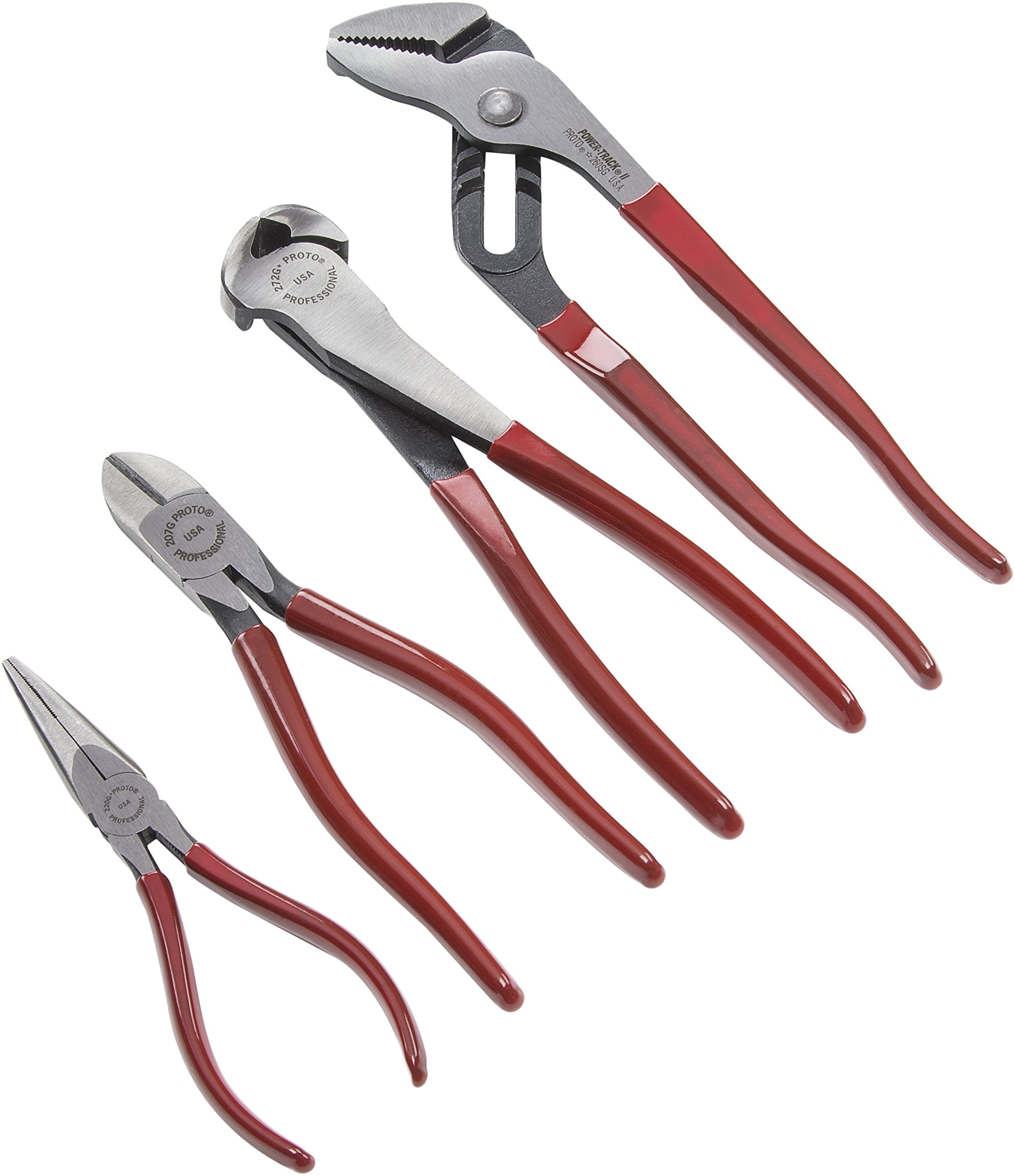 Stanley Proto J226GS Assorted Pliers Set (4-Piece)