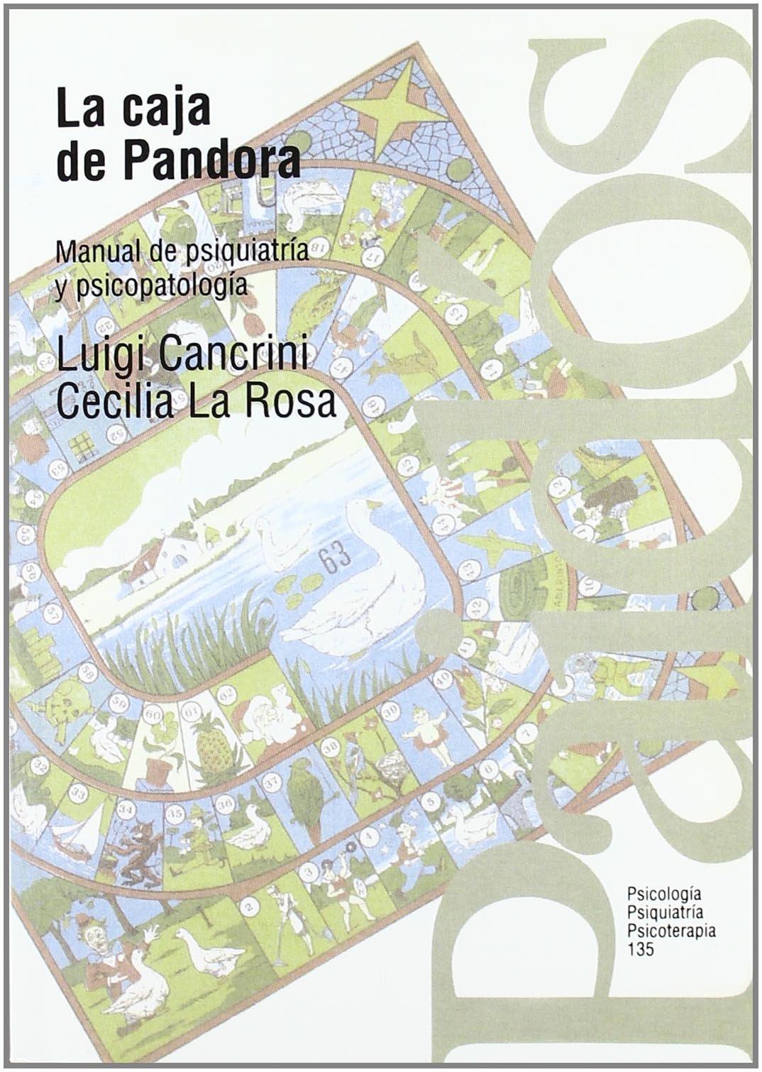 La caja de Pandora: Manual de psiquiatría y psicopatología ...