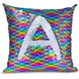 Magic Mermaid Pillow Cover Reversible Sequins Color Changing Pillow Case Funny Home Decoration