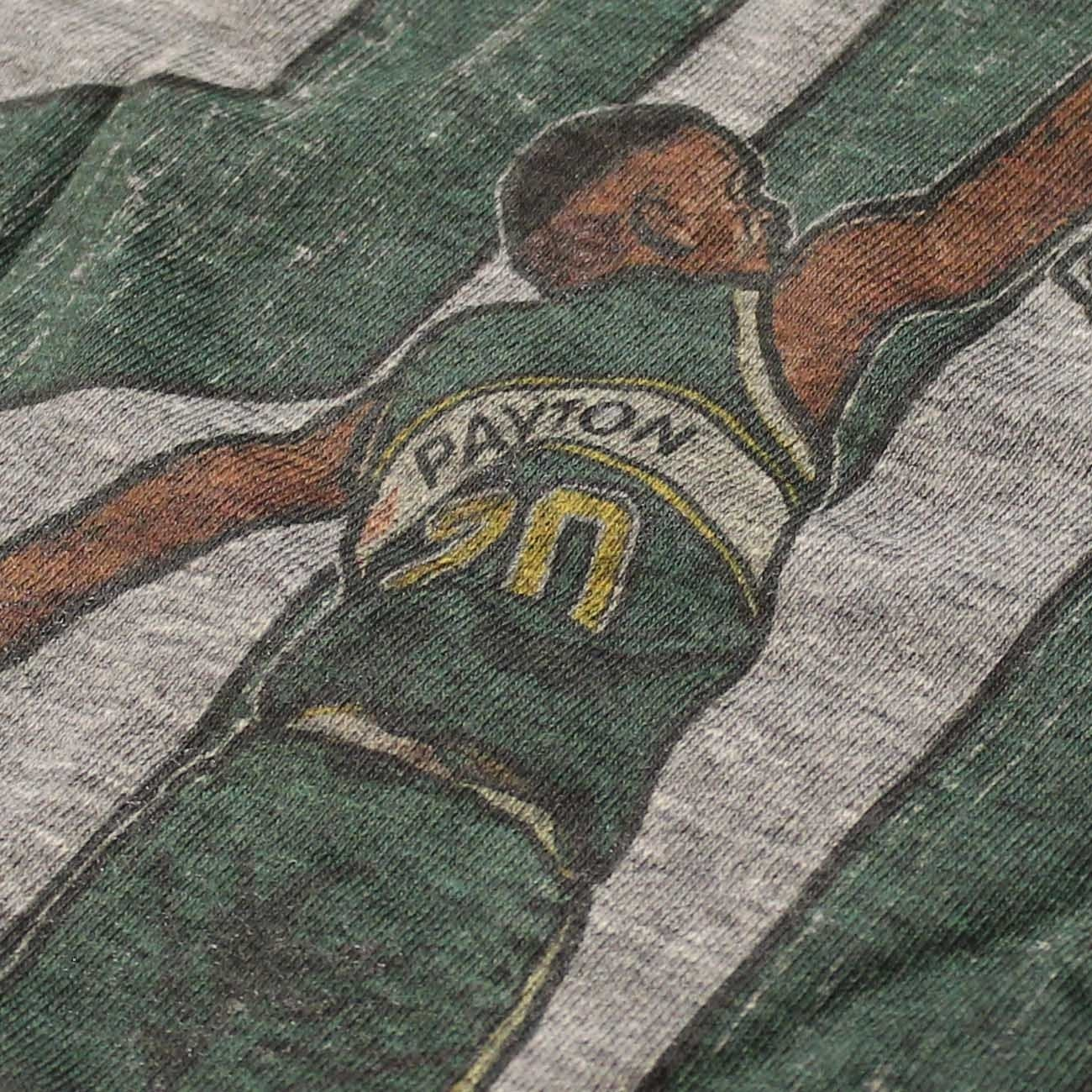 500 nivel Seattle Supersonics Gary Payton NBA camiseta gris: Amazon.es: Deportes y aire libre