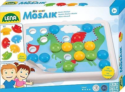 Mosaic Steckplatte groß Spielzeug Kinder Geschenk Spiele Kleinkinder