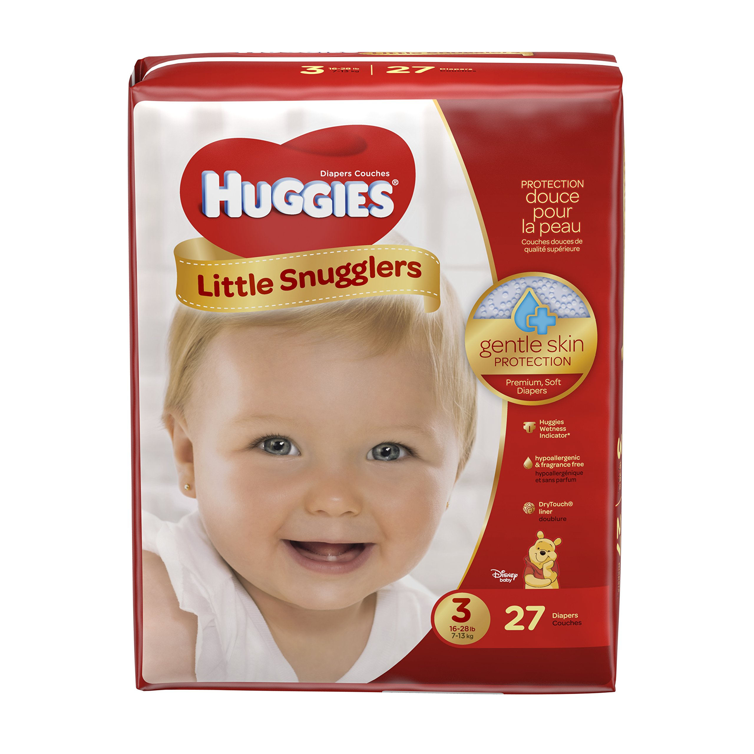 Amazon Com Huggies Little Snugglers Baby Diapers Size 2