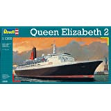 Revell Queen Elizabeth 2 1:1200 Passenger ship Assembly kit - maquetas de barcos, botes y submarinos (1:1200, Passenger ship, Queen Elizabeth 2, Assembly kit, Avanzado, De plástico)