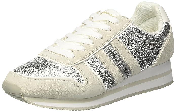 Versace Jeans EE0VRBSA1_E70027, Zapatillas para Mujer, Blanco (Bianco Ottico E003), 39 EU