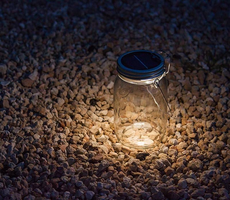 Solar Lamp Preserve Jar