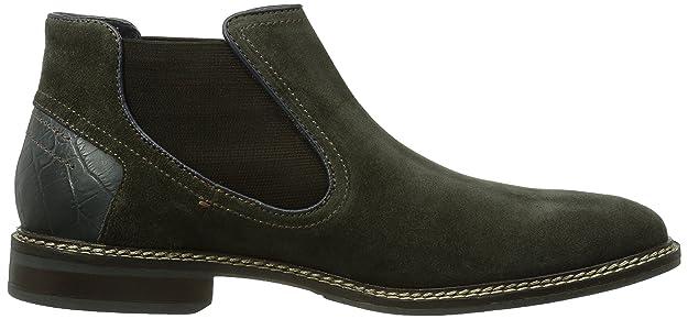 bugattiU90213 - botines chelsea Hombre, color Negro, talla 46