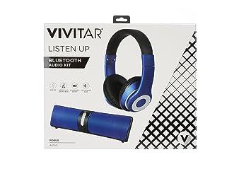 Vivitar Vhps15317 Blu Int Casque Filaire Avec Enceinte Bluetooth