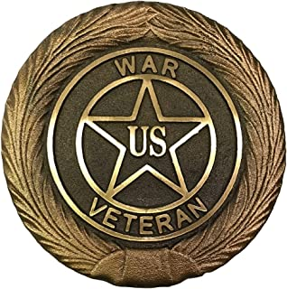 product image for Universal War Bronze Grave Marker with Brass Ground Stake