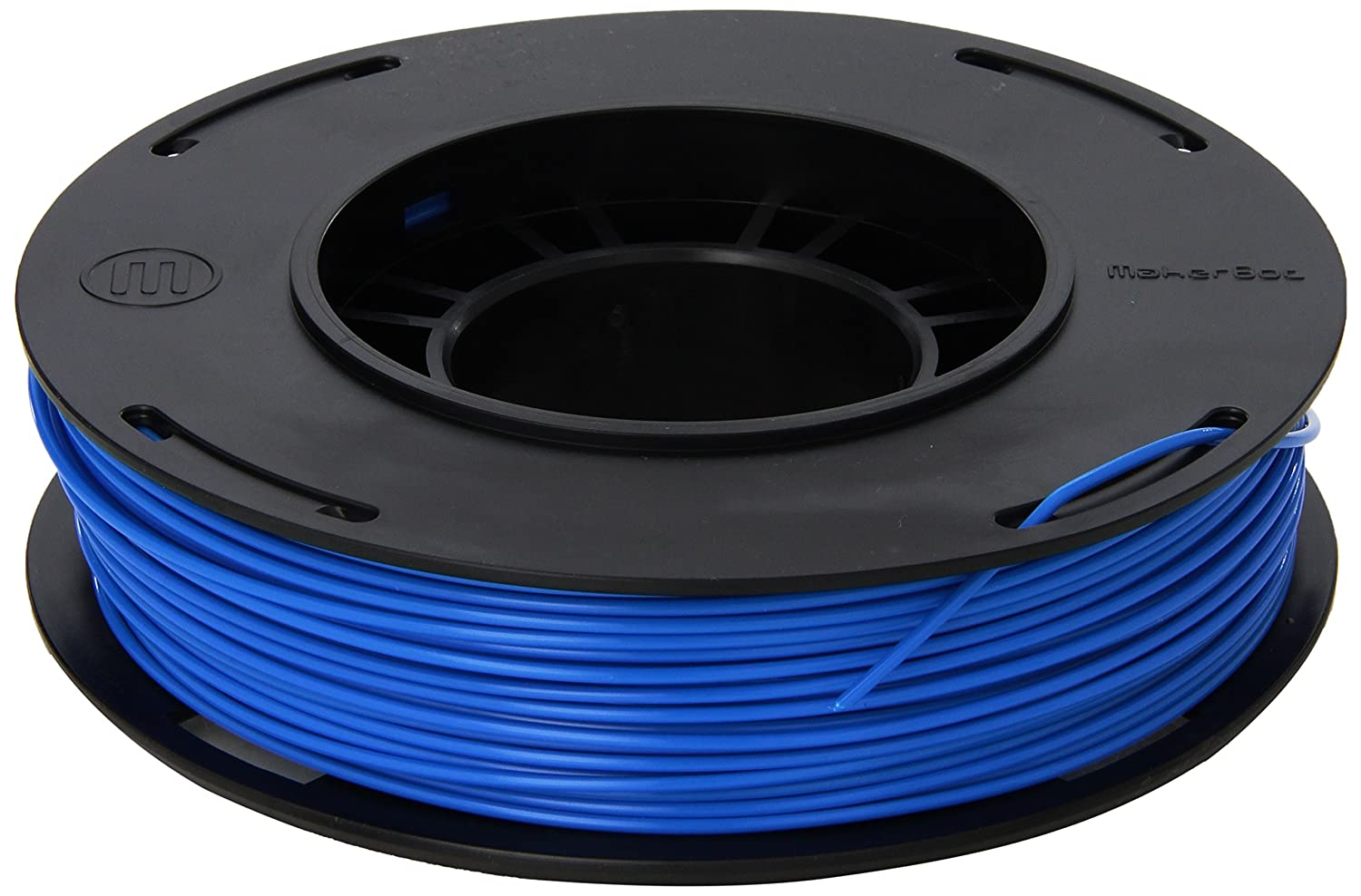 MakerBot PLA Filament, 1.75 mm Diameter, Small Spool, Blue MP05796