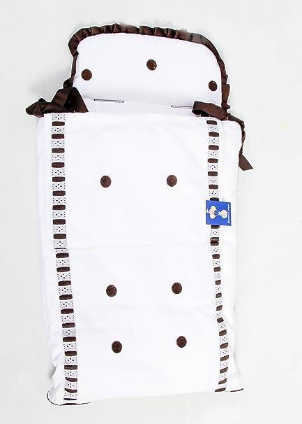 Saco Capazo 3 USOS- Carrito bebe (Saco + colchoneta + Colcha)  .Serie