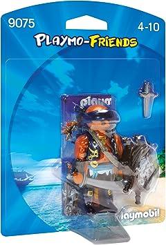 PLAYMOBIL Pirata Playset de Figuras de Juguete, Multicolor, 12 x 3,7 x 16 cm (9075): Amazon.es: Juguetes y juegos