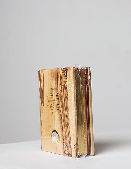 King James Bible De Livre Avec Couverture En Bois D Olivier