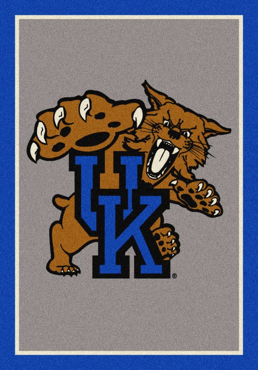 Kentucky Wildcats Vertical 3 10 x 5 4 Team Spirit Area Rug