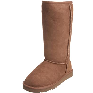 d4e5efa71b4 UGG Australia Junior K Classic Tall Boots, Brown (Chestnut), 3 UK ...