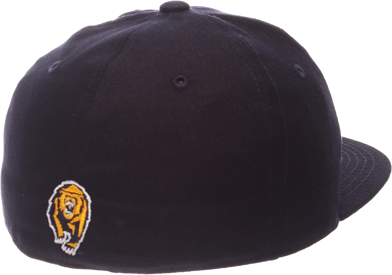 NCAA Zephyr California Golden Bears Mens M15 Fitted Hat Navy 7/_3//8