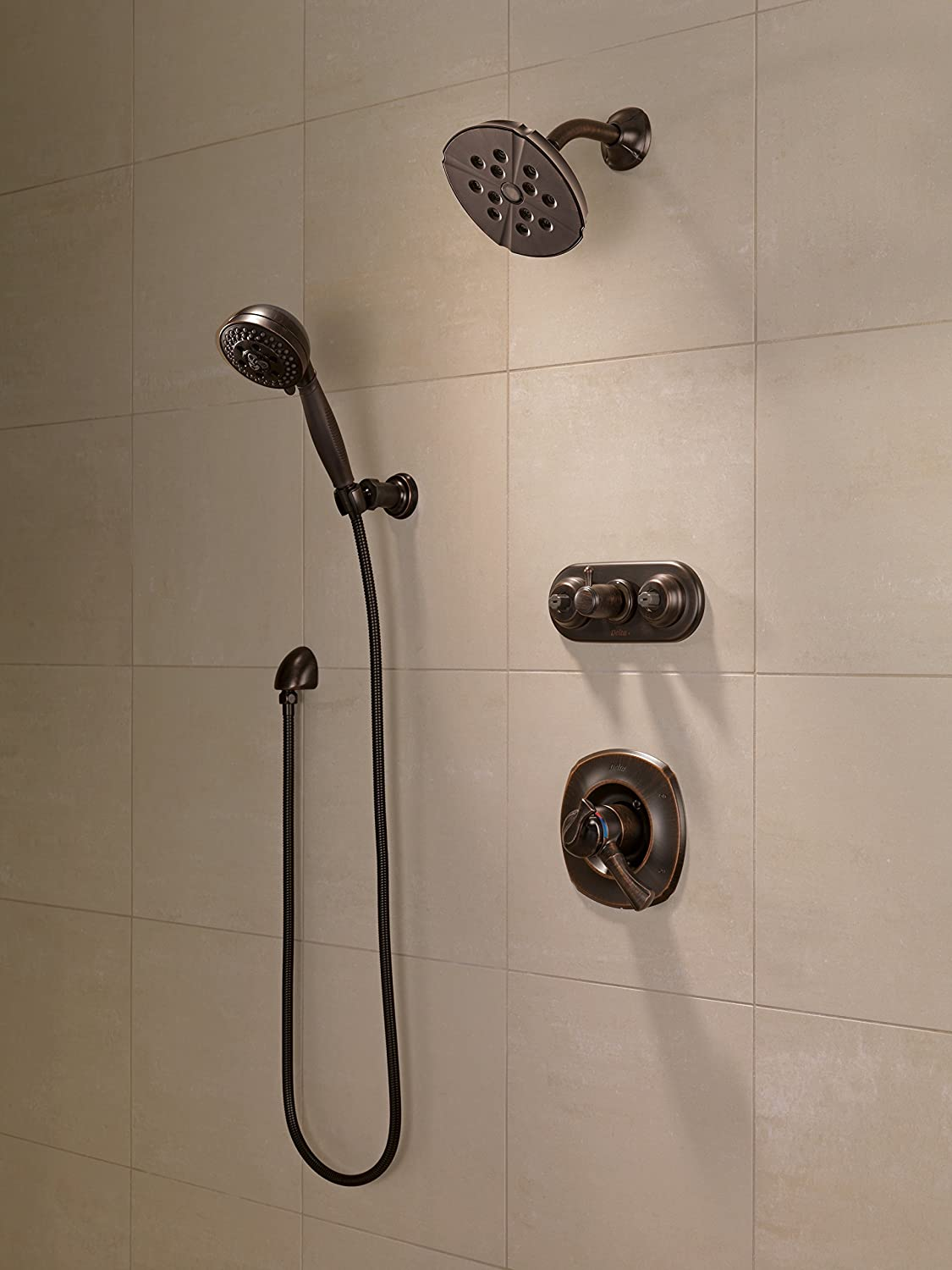 Delta T17292 RB Addison Monitor 17 Series Shower Trim, Venetian Bronze    Plumbing Equipment   Amazon.com
