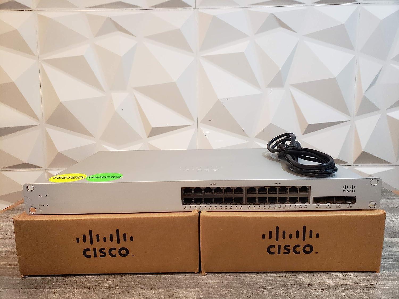 Cisco MS220-24P-HW MERAKI Cloud-Managed L2 24 Port GIH