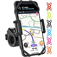 TruActive - Premium Edition! - Bike Phone Mount Cell Phone Holder for Bike - Universal Fit, Motorcycle Phone Mount and…