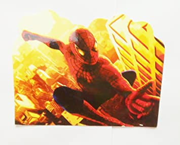 Krishna Creations Spiderman Theme Birthday Invitation Cards Pack Of 20 Along With Envelops