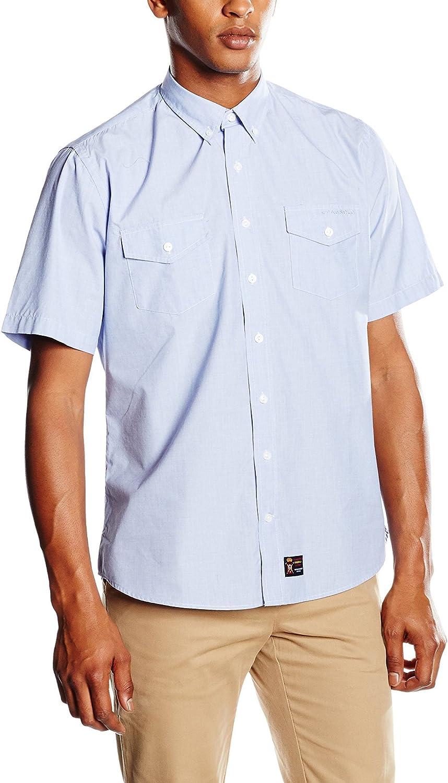 Spagnolo Camisa Hombre Azul Claro M (03): Amazon.es: Ropa y accesorios