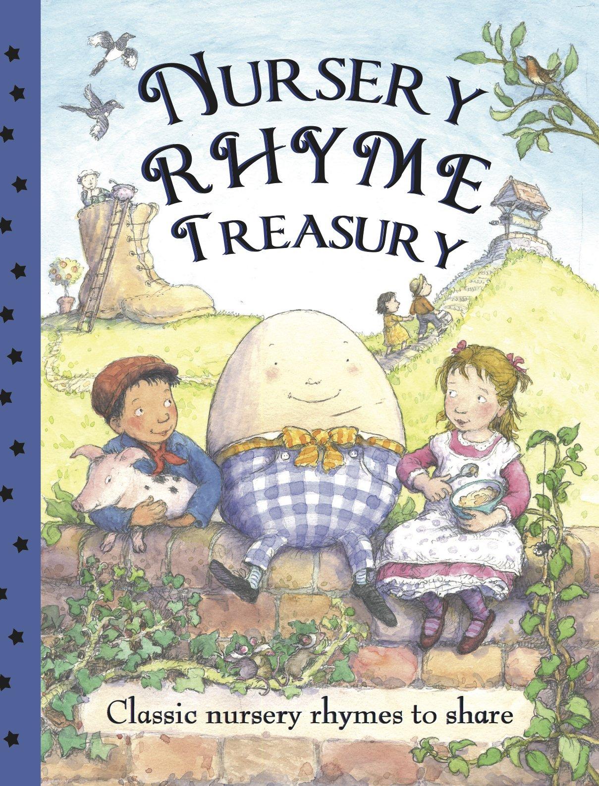 Read Online Nursery Rhyme Treasury: Classic Nursery Rhymes to Share pdf