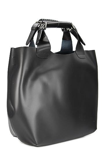 f3aace407e8fd Belli exclusive ital. Leder Handtasche Damentasche Henkeltasche  Umhängetasche schwarz - 41x32x15 (B x H