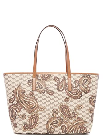 cc41feafe0d0 Michael Kors Studio Paisley Emry Large Top Zip Tote Bag: Amazon.co.uk:  Clothing