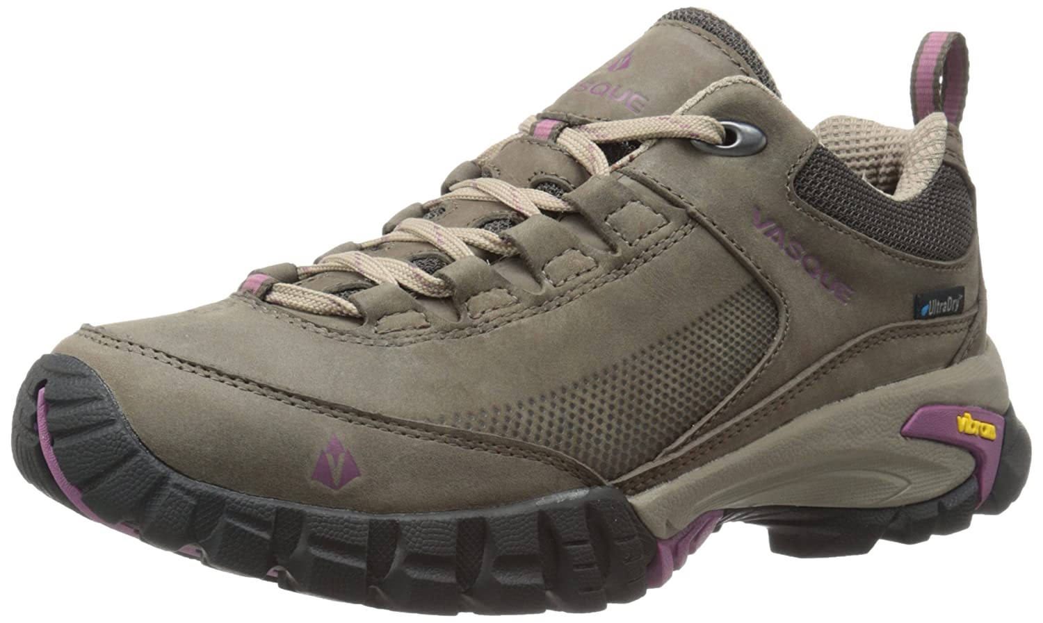 Vasque Women's Talus Trek Low UltraDry Hiking Shoe B00TYJVE8U 10 W US|Black Olive/Damson