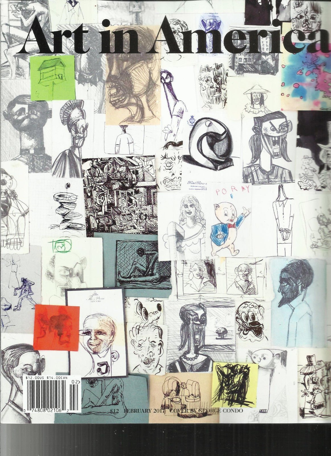 ART IN AMERICA, MAGAZINE FEBRUARY, 2017 SPIRITUAL ABSTRACTION *