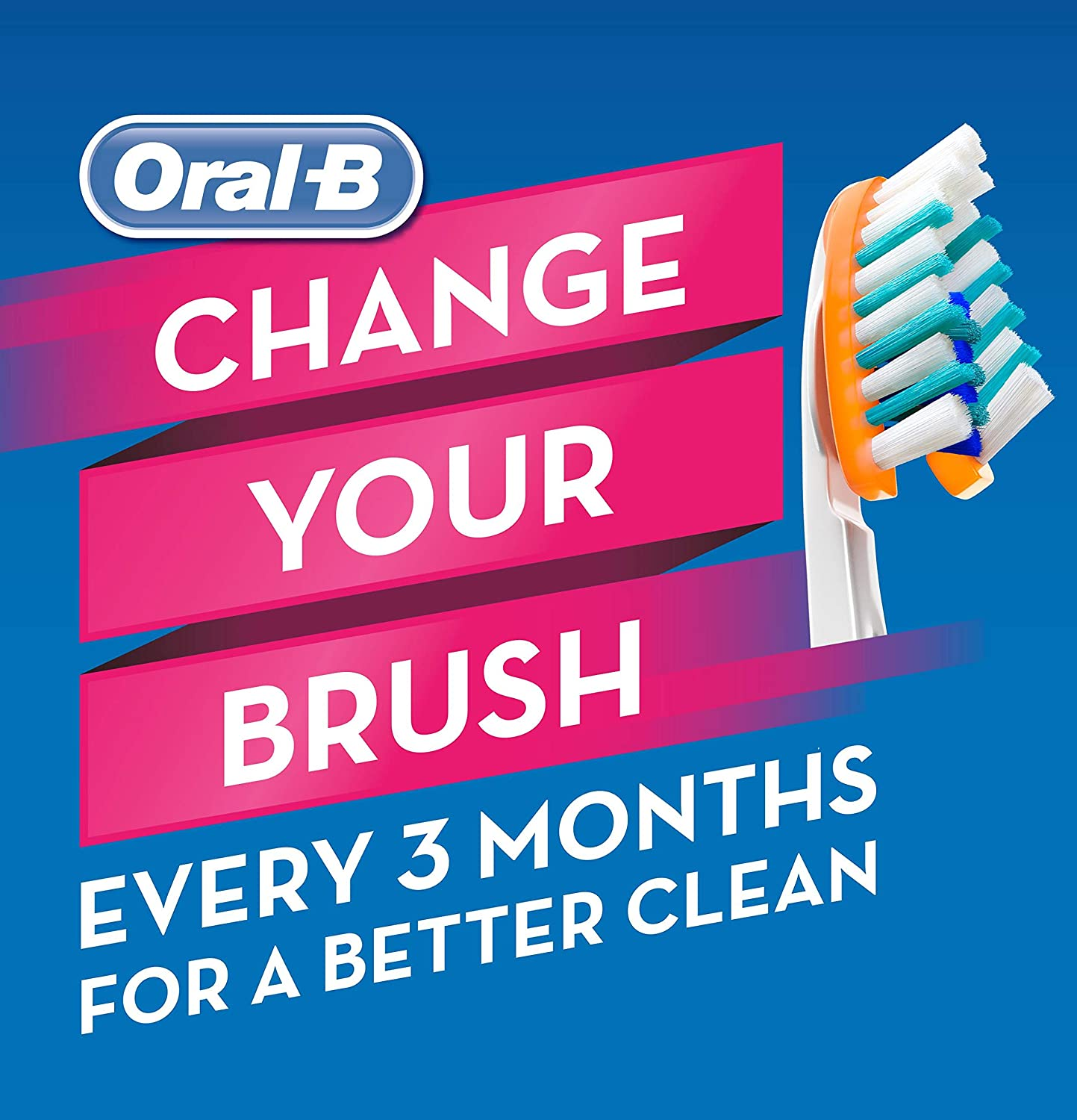 Oral-B Pro-Health Cross Action Advanced Toothbrush, Medium - 8 pack: Health & Personal Care