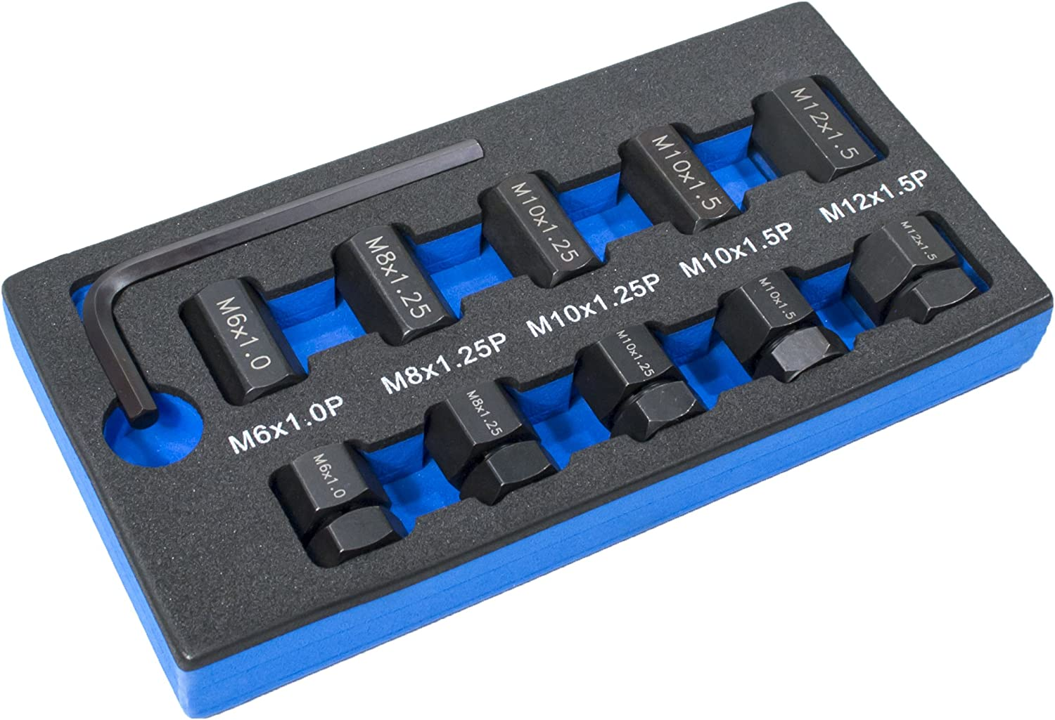 10 PC Metric Stud Remover and Installer Kit