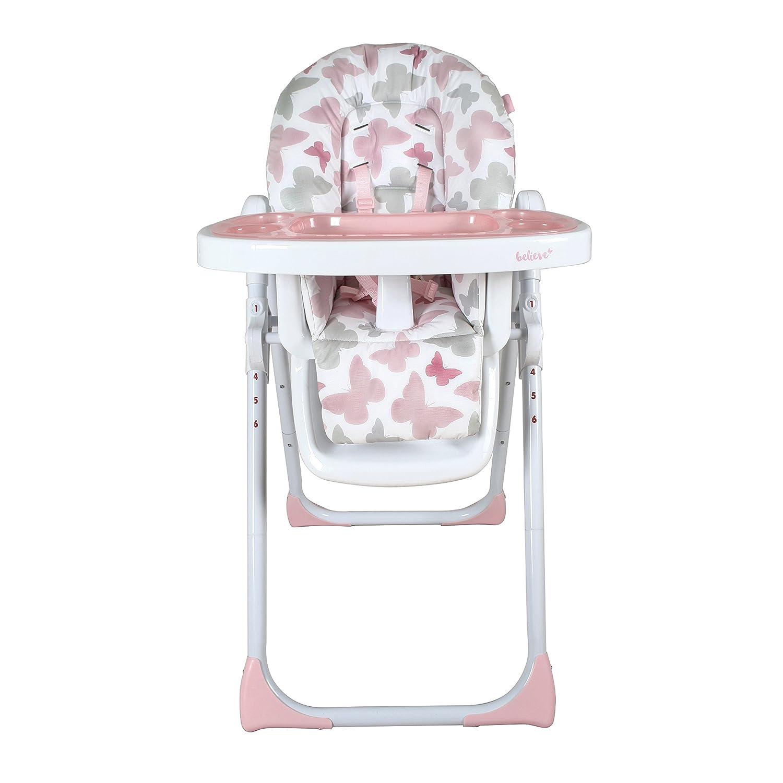 My Babiie MBHC8BU Soft Comfortable Highchair