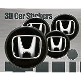 Adhesivos 3D 4 pzs. Imitación Todo tamaño Tapa central Tapas de rueda (53 mm)