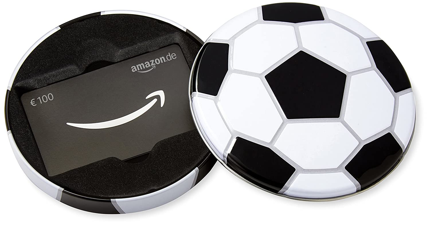 Amazon.de Geschenkkarte in Geschenkbox (Fussball) Amazon EU S.à.r.l. Fixed