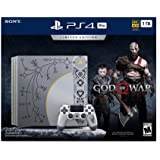 PlayStation 4 Pro 1TB Limited Edition Console - God of War Bundle [Discontinued] (Renewed)