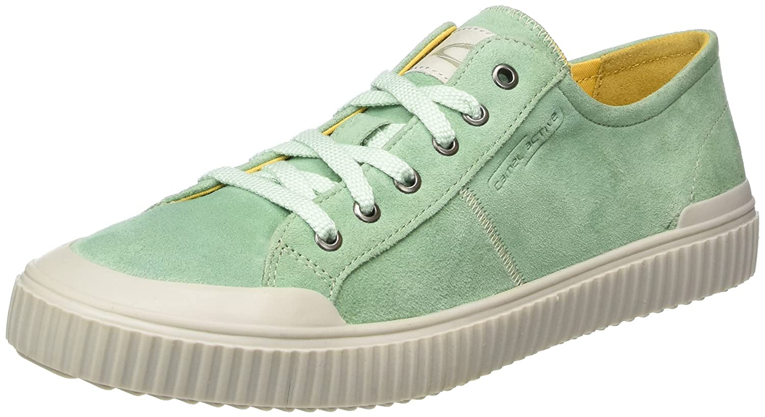Camel active Damen Rail 70 Sneakers Grün (Mint 03)