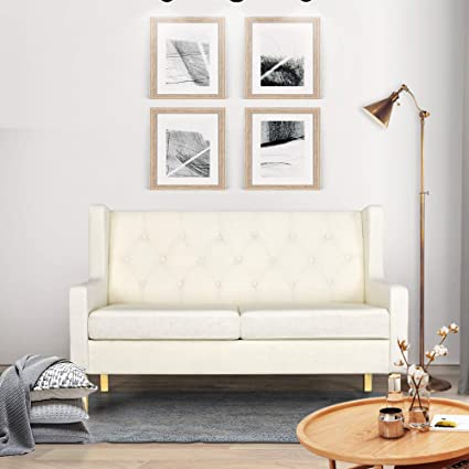 Amazoncom Furniture Sofa Modern Couch Loveseat Sofa Living Room