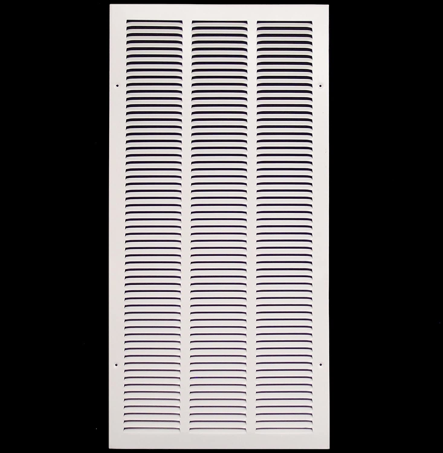 White Outer Dimensions: 15.75w X 31.75h Sidewall and Ceiling 14w X 30h Steel Return Air Grilles HVAC Premium CECOMINOD093068 HVAC DUCT COVER