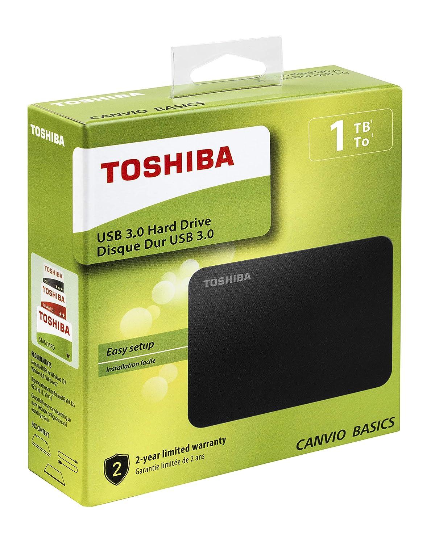 Toshiba Canvio Basics 1TB Hard Disk esterno