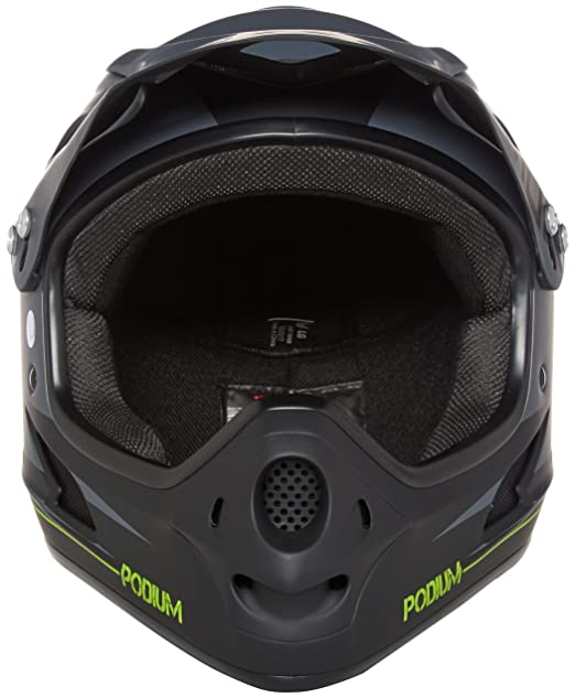 Amazon.com : Demon Podium Full Face Mountain Bike Helmet : Bmx Body Armor : Sports & Outdoors