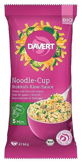 Davert de Noodle Copa De Brócoli y Queso con Salsa de 64g