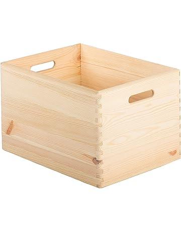 ASTIGARRAGA KIT LINE Caja de madera apilable 40x30x23