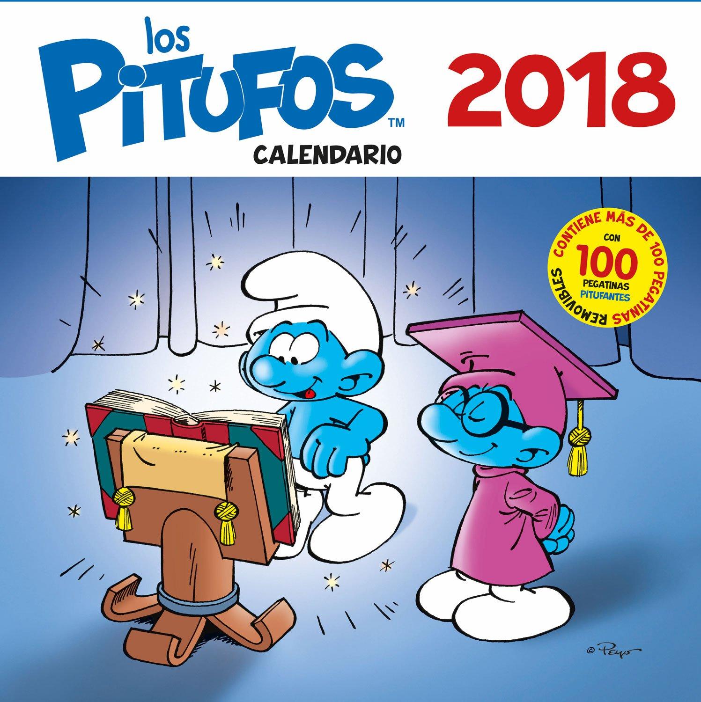 Calendario los Pitufos 2018 (Base Kids) Calendario – Calendario mural, 16 oct 2017 Pierre Culliford EDITORIAL BASE (ES) 8417064338 Basteln / Handarbeiten