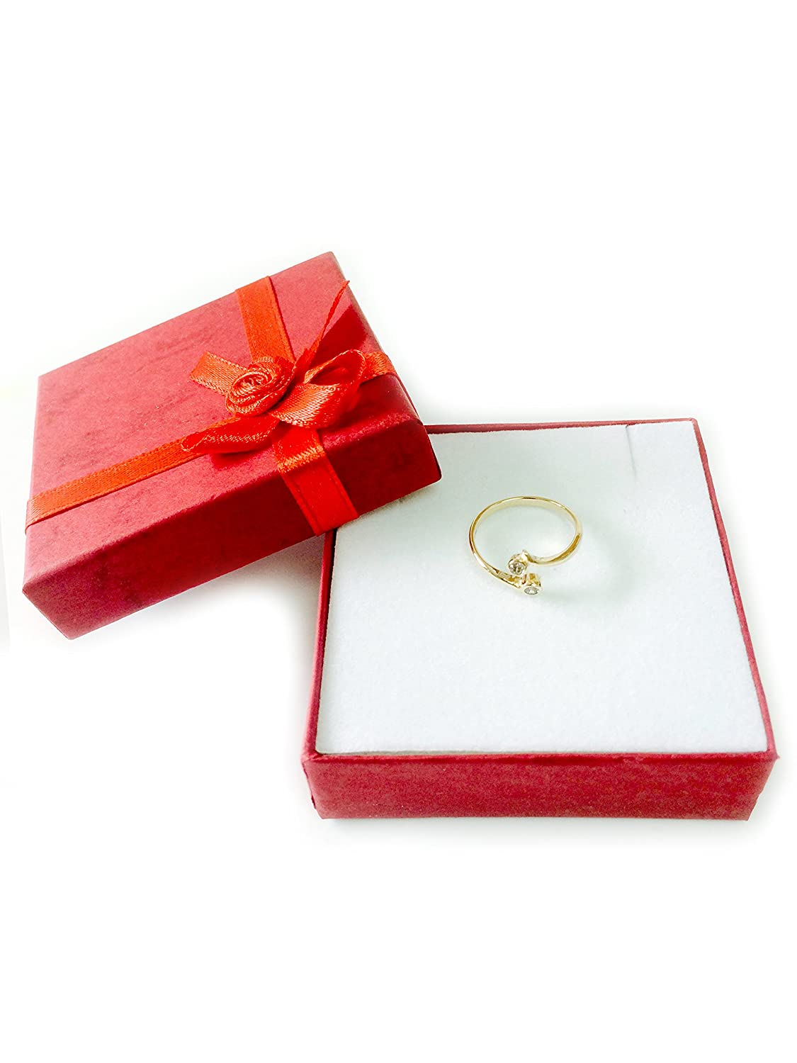 14K Yellow Gold Double Solitaire With CZ By Pass Style Adjustable Toe Ring