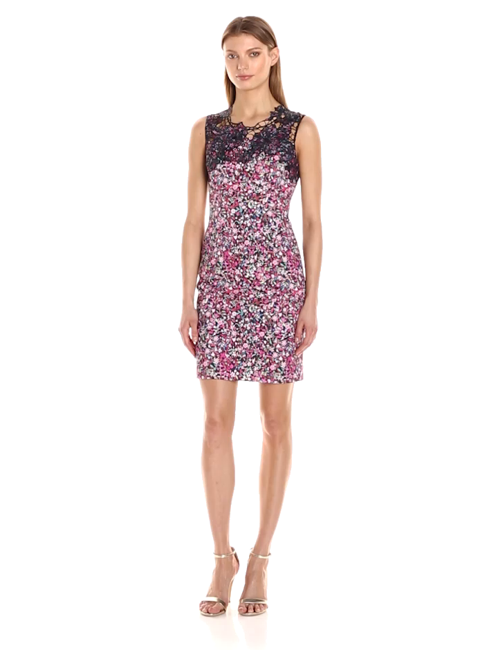 Elie Tahari Women\'s Blake Dress at Amazon Women\'s Clothing store: